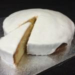 Lemon drizzle cake by catering heaven