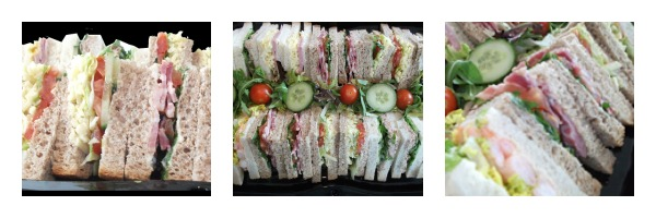 sandwich platters by catering heaven