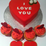 Valentines cakes by catering heaven