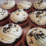 Chocolate Vanilla Cupcakes by Catering Heaven
