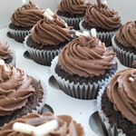 Chocolate Cupcakes by Catering Heaven