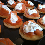 Canapes from Catering Heaven