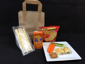 Childrens party bag by Catering Heaven