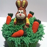 Easter Bunny Cupcakes by Catering Heaven